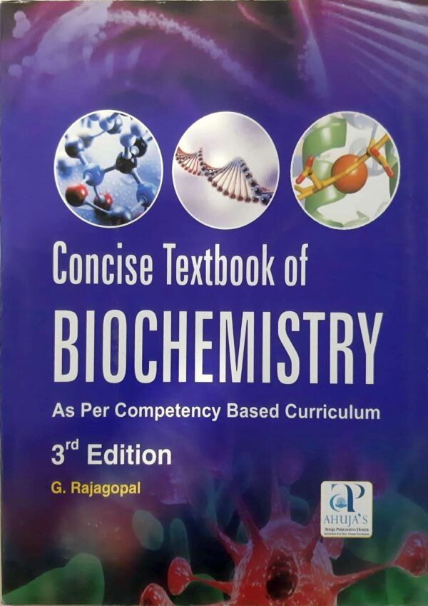 Concise Textbook Of Biochemistry: As Per Competency Based Curriculum